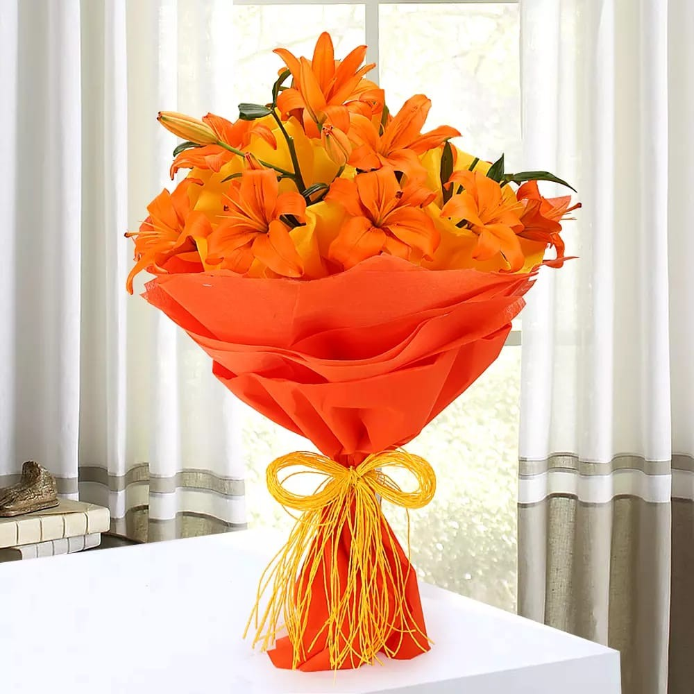Image result for bouquet of lilies